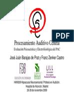 Pac Evaluacion Psicoacusica y Electrofisiologica Del Pac