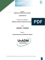 DMMS Unidad 1. Herramientas Para El Modelado de Software