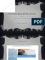 Voter Registration Process