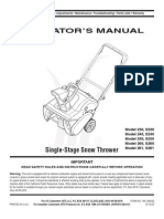 Mt d 240 Snowblower Manual