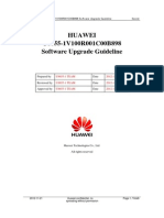 HUAWEI U8655-1V100R001C00B898 Software Upgrade Guideline