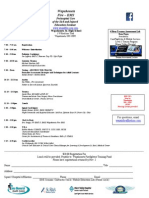 Wapakoneta Fire – EMS Prehospital Care of the Sick and Injured Education Seminar Flyer 2013