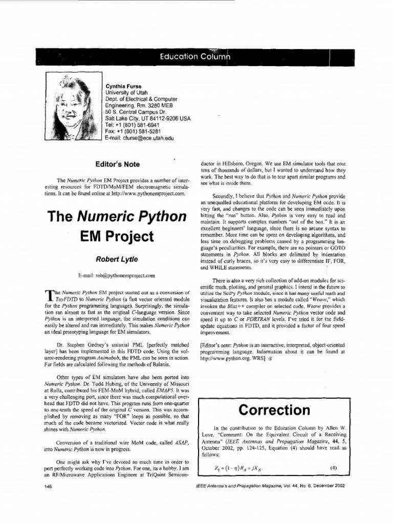 3d Fdtd Python