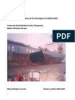 Marie Larseen Assurance Maritime Et Le Transport Multimodal