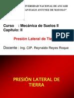 Presión Lateral del Suelo - RRR.ppt