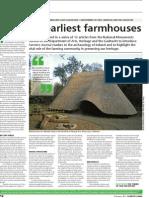 Ireland's earliest farmhouses