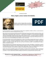 Marx, Engels y Otros Racistas Formidables