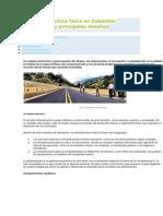 La infraestructura física en Colombia
