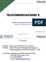 UNTECS Telecom II Clase 1