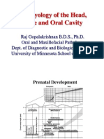embryology of head face &oral cavity