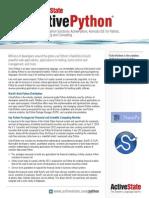ActivePython - ActiveState Datasheet