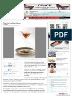 San Francisco Chronicle - SF Gate Blog August 2013
