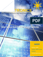 Solar MPPT Hybrid Charge Controller
