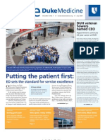 Inside Duke Medicine - July 2009 (Vol. 18 No. 7)