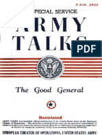 Army Talks ~ 02/02/44