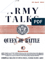 Army Talks ~ 04/26/44