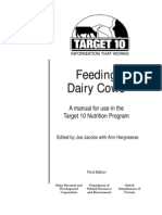Feeding Dairy Cows Manual