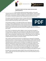 Press Release - Sharing University and Career Success Seminar