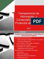 Transparencia en La Comercializacion
