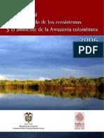Estado Del Ambiente de La Amazonia Colombiana 2006