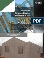 Paredes de Concreto Moldadas in Loco (Final)