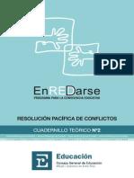 Programa ENREDARSE - Cuadernillo Teorico II - Resolucion Pacifica de Conflictos