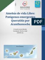 Amebas de vida libre Patógenos emergentes. Dr. Jacob Lorenzo Morales