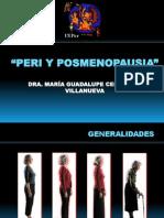 Clase Peri y Posmenopausia y Th