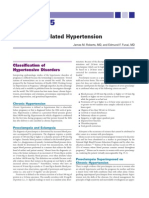Hypertension and Pregnancy