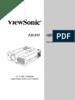 Viewsonic Pj885-1 User Guide