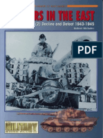 [Concord] [Armor at War 7016] Panzers in the East (2) Decline and Defeat 1943-1945 (1999) (faltan págs. 5, 36 y 52)