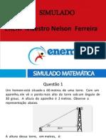 IV Simulado Mat