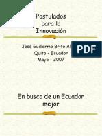 Postulados para la innovación