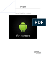 Synopsis - Process Scheduling in Android