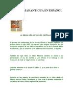 A BIBLIA MAS ANTIGUA EN ESPAÑOL.docx