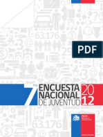 Septima Encuesta Nacional Juventud