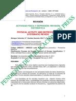 Rev.int.med.cienc.act.fís.deporte Actividad fisica y depresión