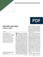 Ugcnet June 2012