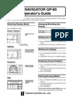 GP80 Operator's Guide