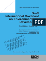 ENVI - Assign 10 - Draft IUCN Covenant on Environment and Development 2004