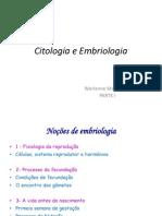 aula 1 = introdução à embriologia