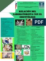 cartel diseño y admin de laboratorio