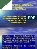 4 Complicaciones Obstetricas Shock Septico DrFlores 100812