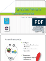 Nuevas Terapias Frente a Acanthamoeba. Dra. Carmen M Martin-Navarro