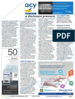 Pharmacy Daily for Mon 23 Sep 2013 - Price disclosure pressure, SHPA honour, eRx app to go live, dextropropoxyphene update and much more