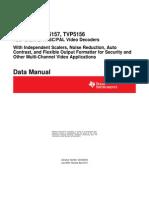 tvp5158 Data Manual