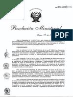 Esquema Nacional de Vacunacion 2013 RM-510-MINSA