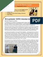 Marcum's Newsletter - Sept 2013