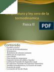 Ley Cero de La Termodinamica