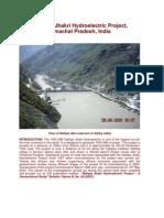 Nathpa - Jhakri Hydroelectric Project